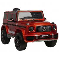 Электромобиль RiverToys Mercedes-AMG G63 K999KK-4 WD вишневый глянец