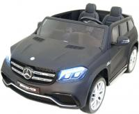 Электромобиль RiverToys Mercedes-Benz GLS63 AMG черный матовый