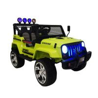 Электромобиль RiverToys Jeep T008TT (4х4) зеленый
