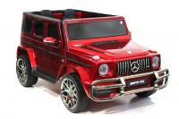 Электромобиль RiverToys Mercedes-AMG G63 4WD (S307) вишневый глянец