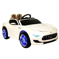 Электромобиль RiverToys Maserati A005AA белый
