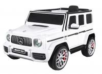 Электромобиль RiverToys Mercedes-AMG G63 K999KK-4 WD белый