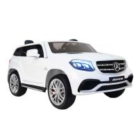 Электромобиль RiverToys Mercedes-Benz GLS63 AMG белый