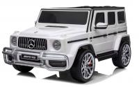 Электромобиль RiverToys Mercedes-AMG G63 (S307) белый