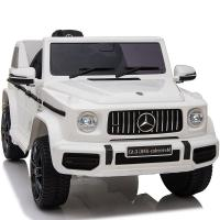 Электромобиль RiverToys Mercedes-Benz G63 O777OO белый
