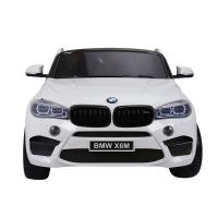 Электромобиль RiverToys BMW X6M JJ2168 белый