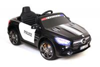 Электромобиль RiverToys Mercedes-Benz SL500 Police черный