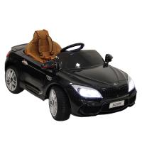 Электромобиль RiverToys BMW B222BB черный