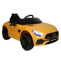 Электромобиль RiverToys Mercedes-Benz AMG GT O008OO желтый