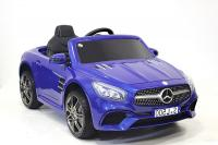 Электромобиль RiverToys Mercedes-Benz SL500 Police синий