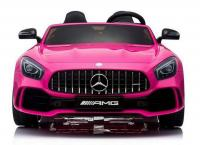 Электромобиль RiverToys Mercedes-Benz GT-R розовый