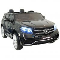Электромобиль RiverToys Mercedes-Benz GLS63 AMG черный глянец