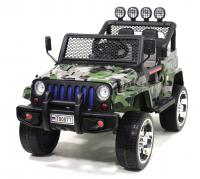 Электромобиль RiverToys Jeep T008TT камуфляж
