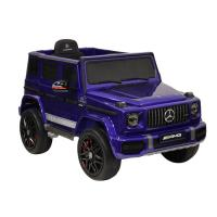 Электромобиль RiverToys Mercedes-AMG G63 K999KK-4 WD синий глянец