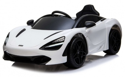 Электромобиль RiverToys McLaren 720S белый