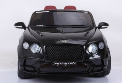 Электромобиль RiverToys Bentley Supersport JE1155 черный