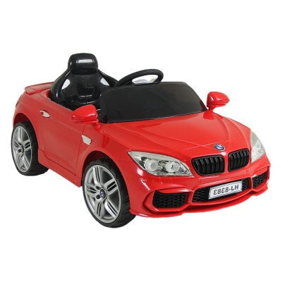 Электромобиль RiverToys BMW B222BB красный