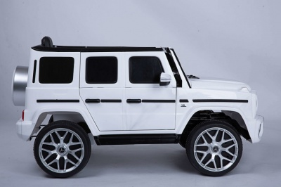Электромобиль RiverToys Mercedes-Benz G63 Т999ТТ белый